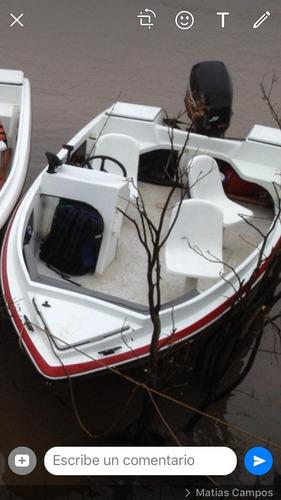 lancha lequini 4.73 motor mercury 50 hp