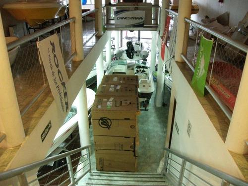 lancha lerch open 4,70 super oferton okm en naval patagonia