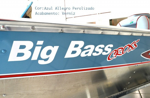 lancha levefort big bass cross