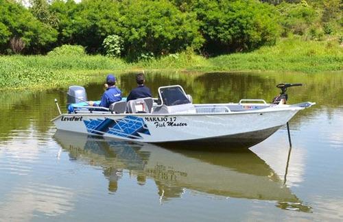 lancha levefort marajó 17 fish master