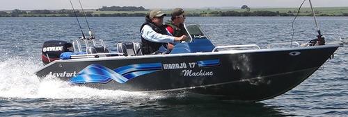 lancha levefort marajó 17 fishing machine