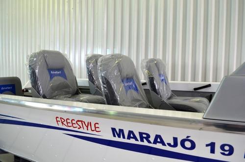 lancha levefort marajó 17 marajó master freestyle