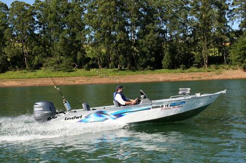 lancha levefort marajó 19 fishing machine