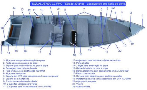 lancha levefort squalus 600 cl pro