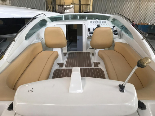 lancha logic 305 cabinada, motor zero - mercruiser 6.2 300hp