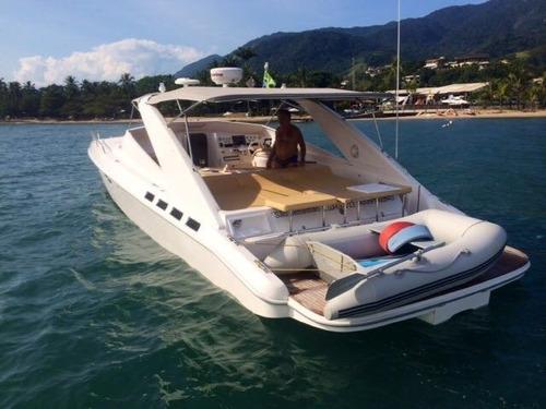 lancha magnum 39, 2015, 02 4.2 diesel - marina atlântica