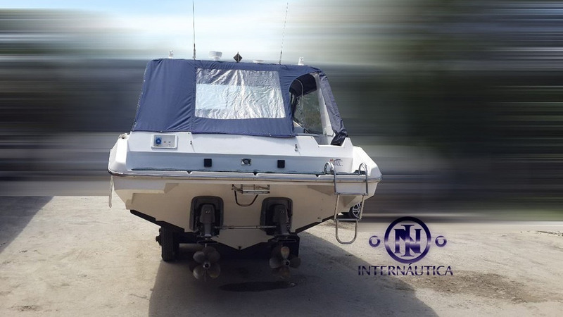 lancha magnum 39 - axtor cranchi runner force one superboats