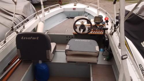 lancha marajó 16 motor 90  hp
