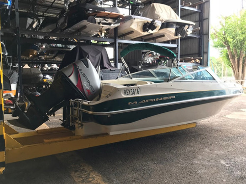 lancha mariner 555 con motor mariner 200 hp 2t