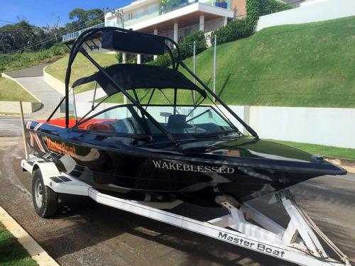 lancha masterboat wakeboard ski malibu esquimar ventura