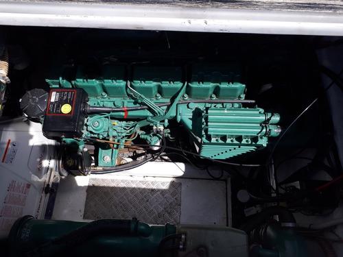 lancha mediterranean 40- volvo 200 diesel- año 2005
