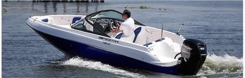 lancha mestra 18.0 plus 2016 + 115 hp optmax