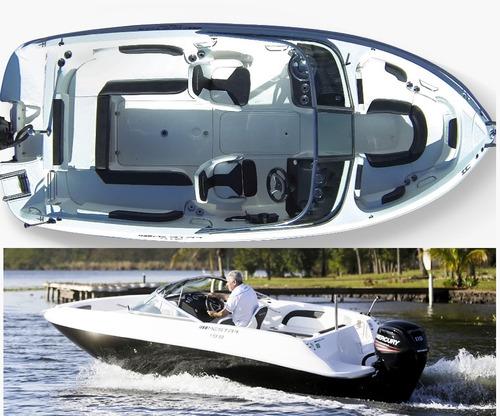 lancha mestra 19.8 plus - mercury 115 hp 4 tempos - zero km!