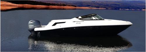 lancha mestra 210 motor yamaha 115hp 4t 0km p. entrega