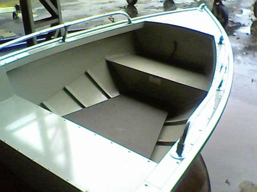 lancha metalglass karib 600 console
