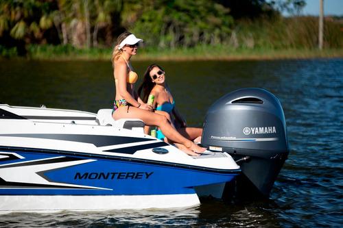 lancha monterey modelo m 225 open bowrider - nueva