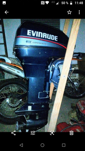 lancha motor bigua 400 evinrude 15 hp