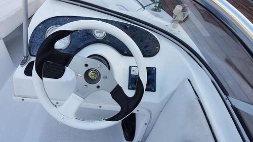 lancha naval center 165 con mariner 60 hp con 73 hs de uso!!