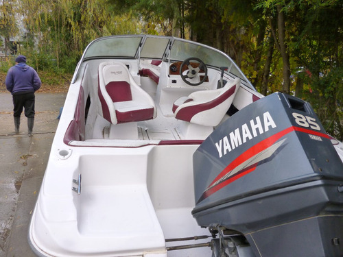 lancha naval center open yamaha 85hp muy buen estado
