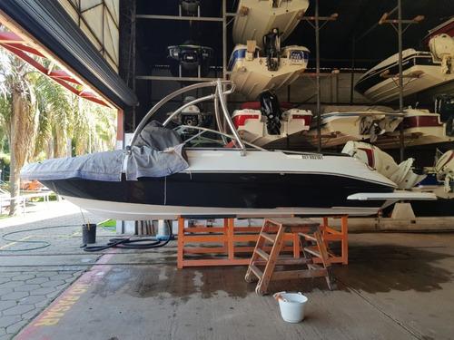 lancha naval center sport open 210 wakeboard
