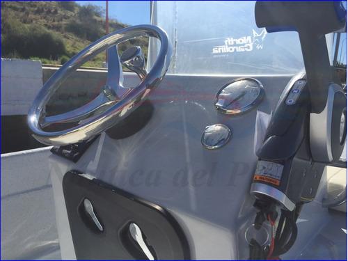 lancha north carolina fly 17v con mercury 90 4 tiempos 2020