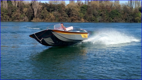 lancha north carolina fly fisher 17v full c/ evinrude 90 hp