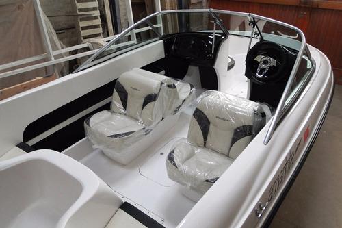 lancha nueva amarinta 505 lite con mercury 60 hp 2t 2017