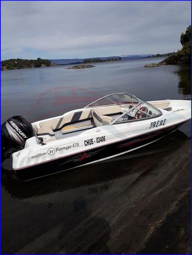 lancha nueva open 475 equipada a estrenar náutica del plata