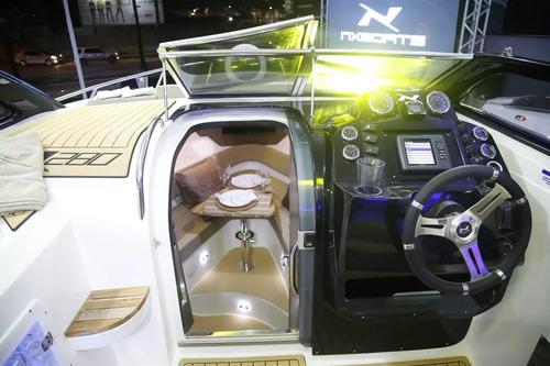 lancha nx 280 com mercruiser 6.2 300hp