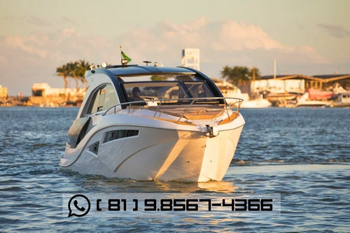 lancha nx 380 ht 2018 - lançamento nx boats! em até 60x