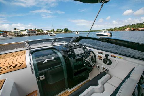 lancha nx boats 28 pés cabinada - nx280 0km 2017 em até 60x