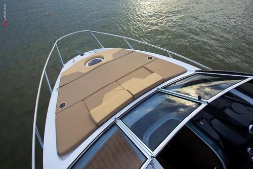 lancha nx boats 28 pés cabinada - nx280 0km 2018 em até 60x