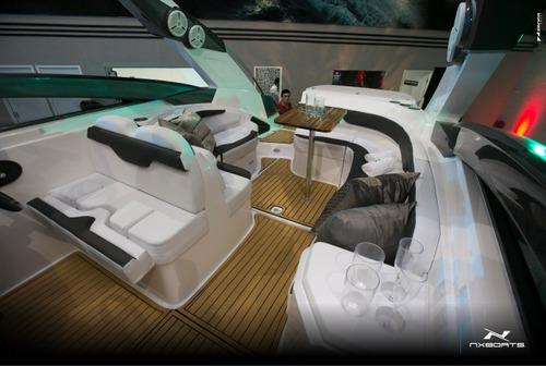 lancha nx boats - mod. nx270 2018 em até 60x