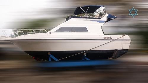 lancha oceanic 26 iate barco n azimut ferretti phantom