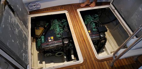 lancha oceanic 36. 02 volvo kad44 -rabeta - marina atlântica