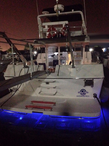 lancha oceanic 44 - intermarine azimut ferretti phantom
