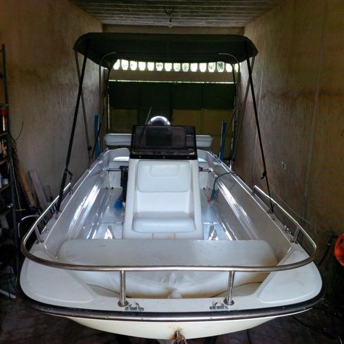 lancha open 17 pies aquanauti con motor fuera de borda honda