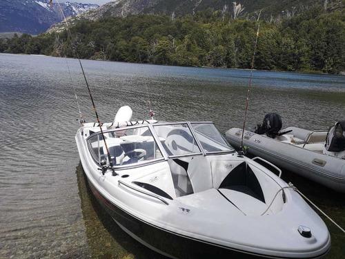 lancha open 3v bianca 510 evinrude 60 hp nautica milione 4