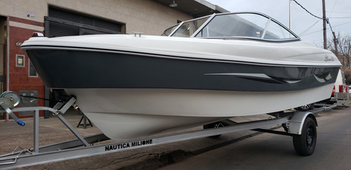lancha open 3v bianca 510 evinrude 60 hp nautica milione 8