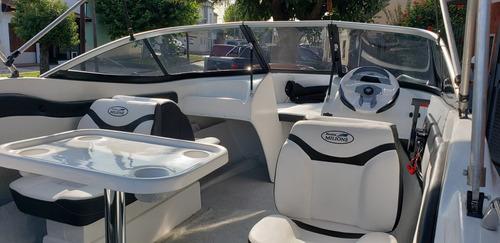 lancha open 3v bianca 510 power tec 40 hp nautica milione 1