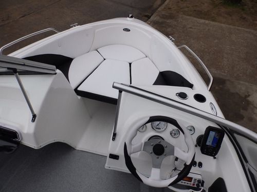 lancha open 3v bianca 510 power tec 40 hp nautica milione 5