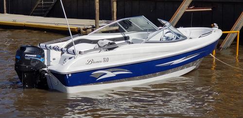 lancha open 3v bianca 510 stock permanente nautica milione 1