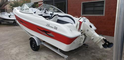 lancha open 3v bianca 510 stock permanente nautica milione 3