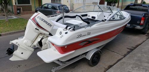 lancha open 3v bianca 510 stock permanente nautica milione 4