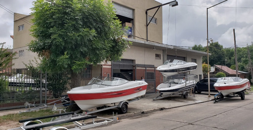 lancha open 3v bianca 510 stock permanente nautica milione