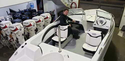 lancha open 3v bianca 510 stock permanente nautica milione a