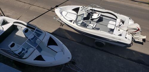 lancha open 3v bianca 510 stock permanente nautica milione c