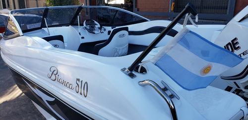 lancha open 3v bianca 510 stock permanente nautica milione12