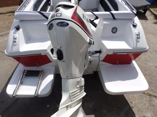 lancha open 3v tango 470 evinrude 60 hp eco1 nautica milione