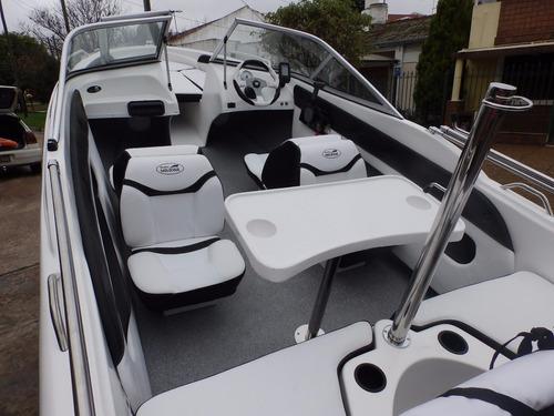 lancha open 3v tango 470 evinrude 60 hp eco4 nautica milione